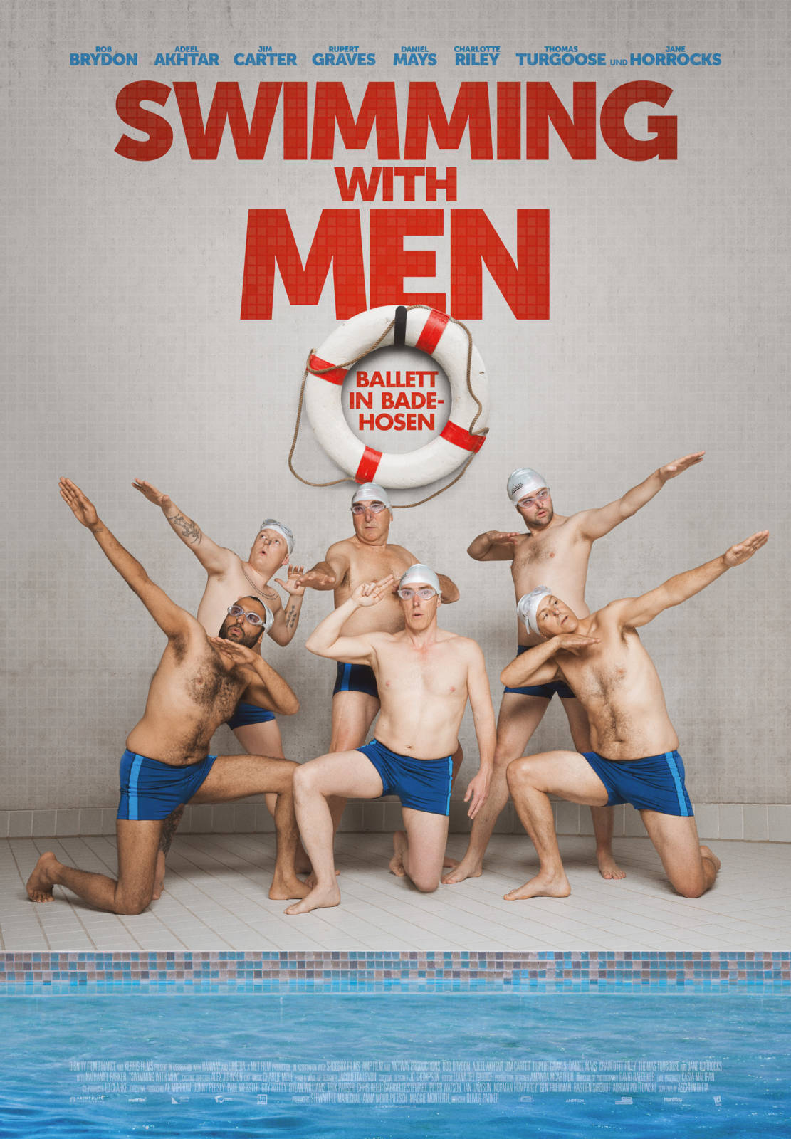 Plakat Swimming with Men