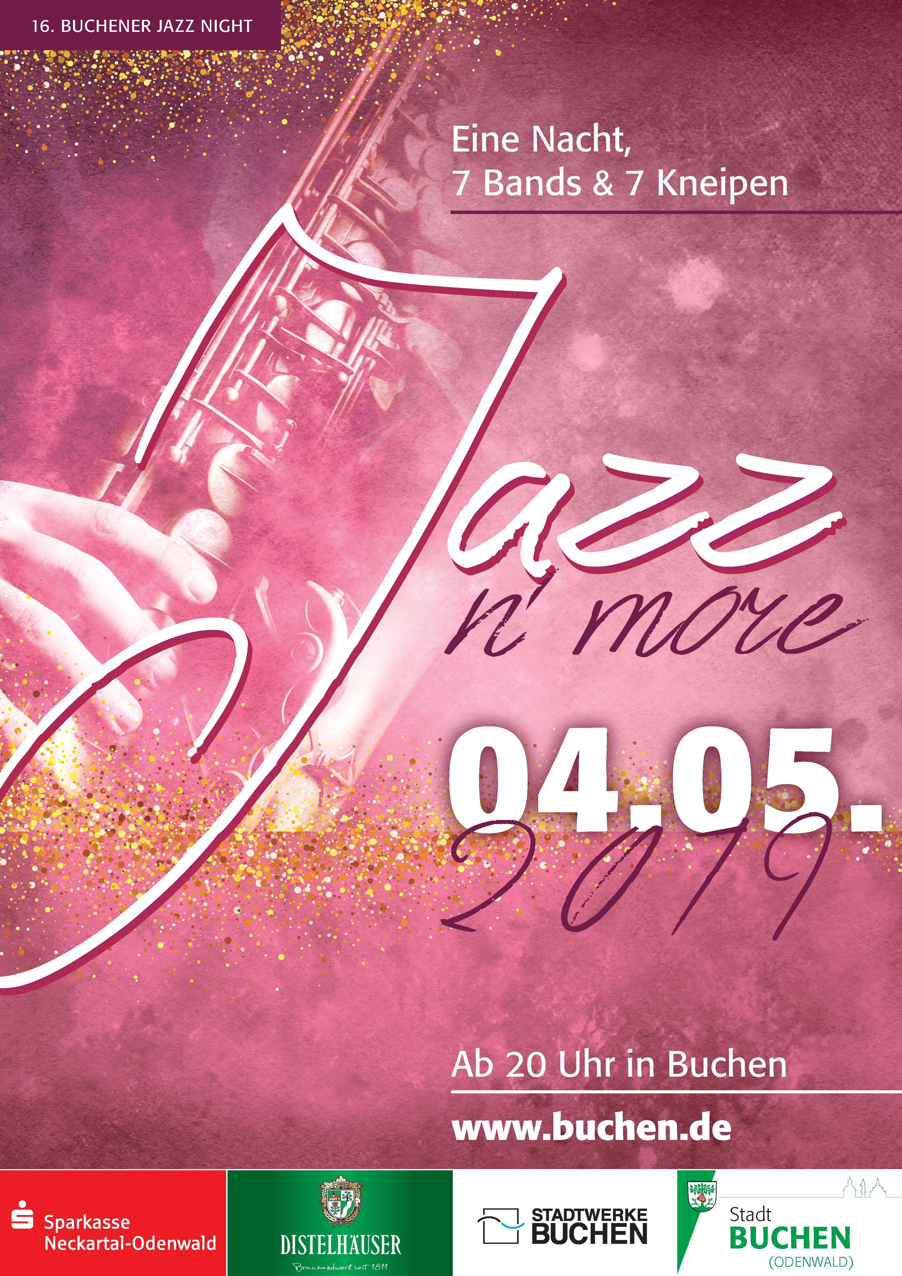 Plakat Jazz Night 2019